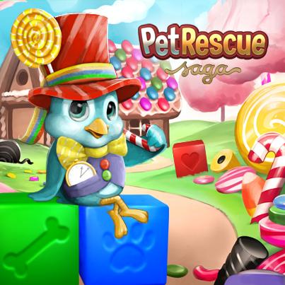 Caramel Cottage Play Petrescuesaga Now To King Com 7rxt Pet Rescue Saga Blue Bird Animal Rescue