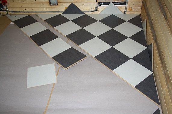 Marmoleum click volcanic ash silver shadow kitchen kitchen