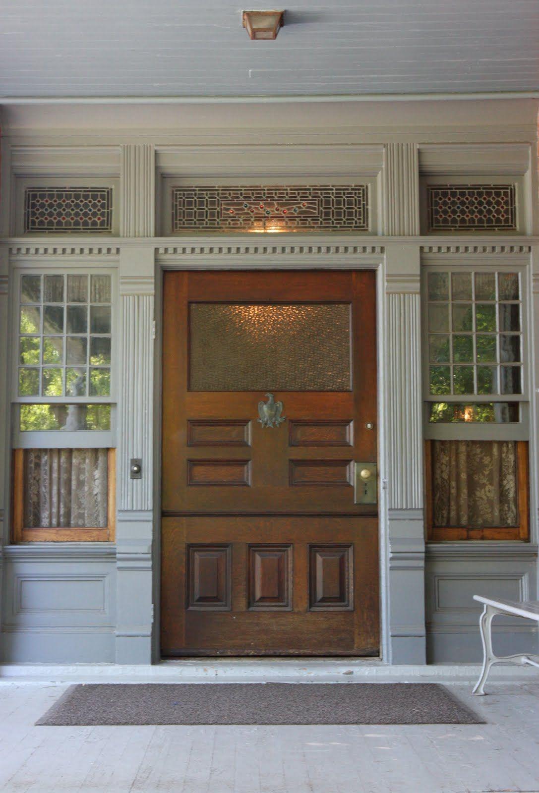 Front Door Of Sagamore Hill Long Island Building A House Front Door