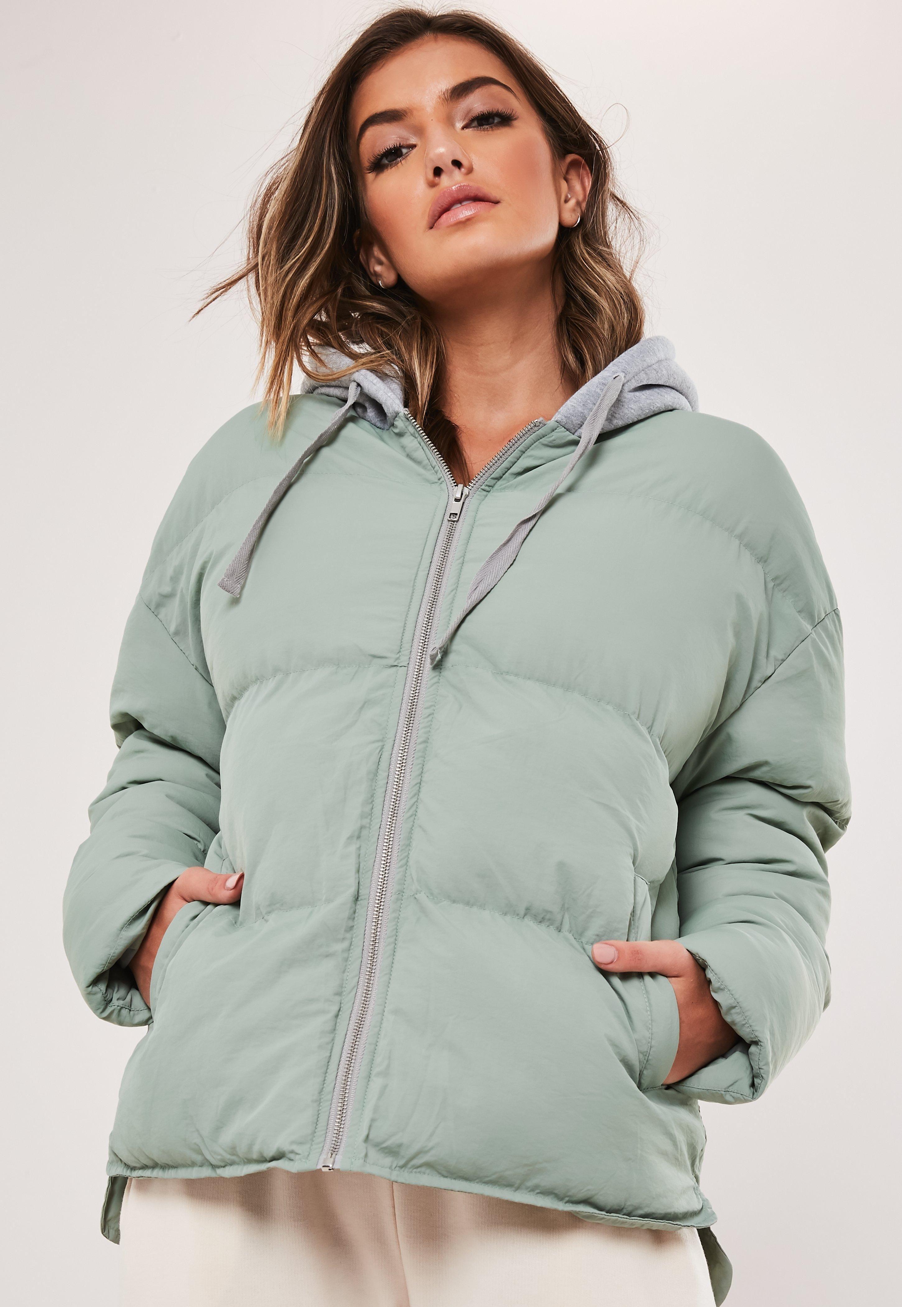 Mint Jersey Oversized Puffer Jacket Sponsored Jersey Ad Mint Oversized Jackets Women S Coats Jackets Coats For Women [ 4200 x 2900 Pixel ]