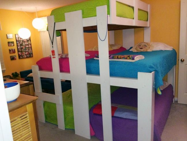 Small Space Living For Big Families Tiny House For Big Family Kid Beds Kids Bunk Beds