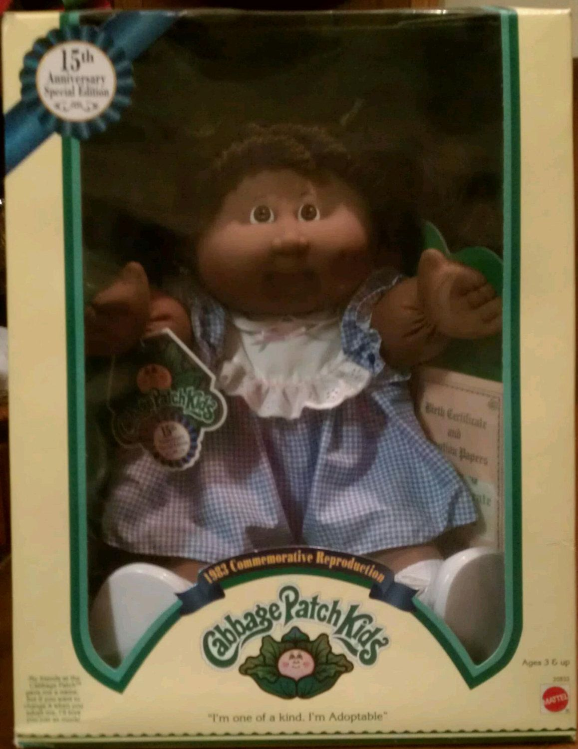 1983 15th Anniversary Special Edition By Tonyasuniquetreasure 45 00 Cabbage Patch Kids Cabbage Patch Kids Dolls 15th Anniversary