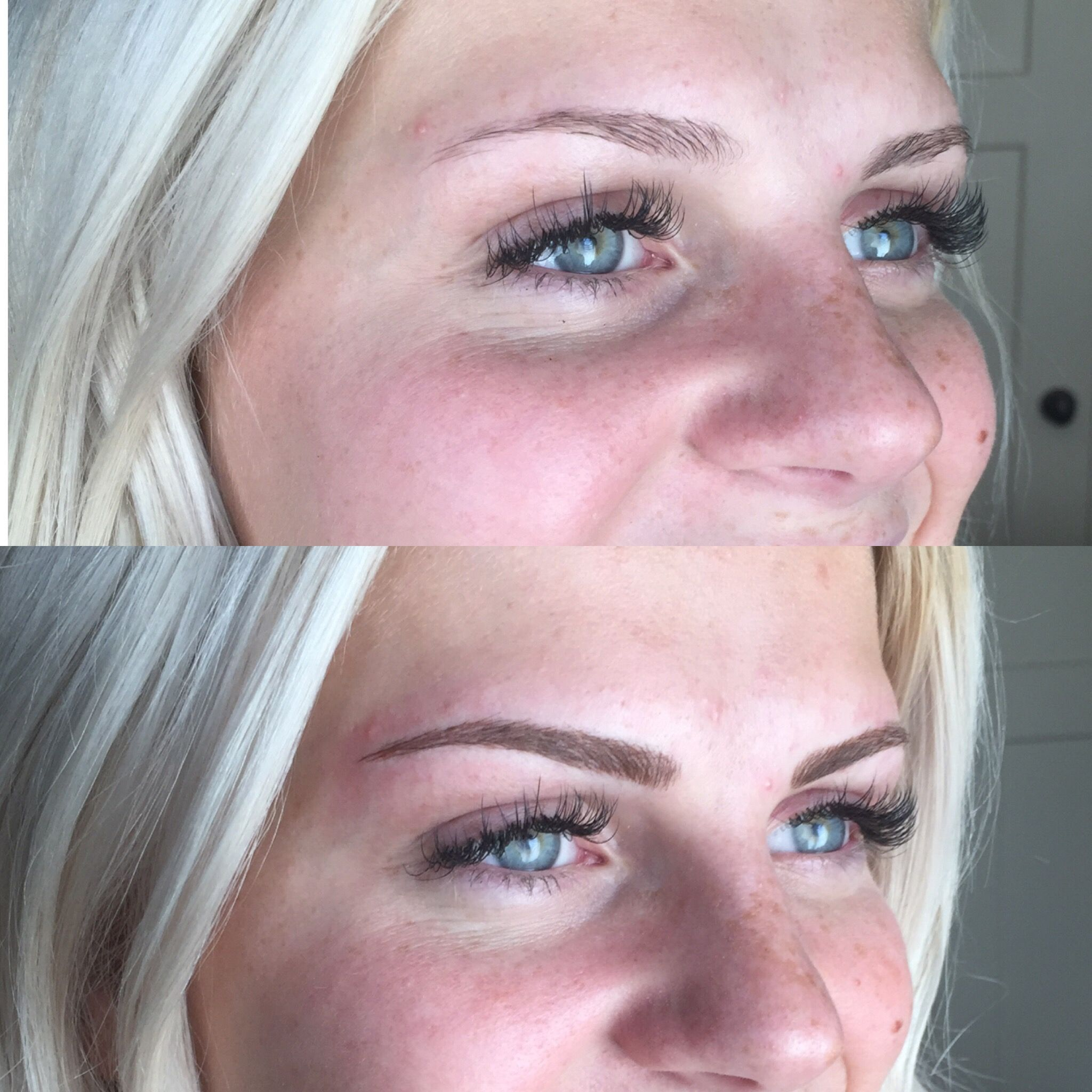 Microblading For Blondes Microblading Eyebrows Blonde Eyebrows