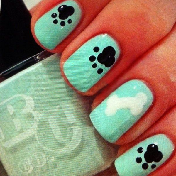 Easy Nail Designs for Beginners, http://hative.com/easy-nail-designs ...