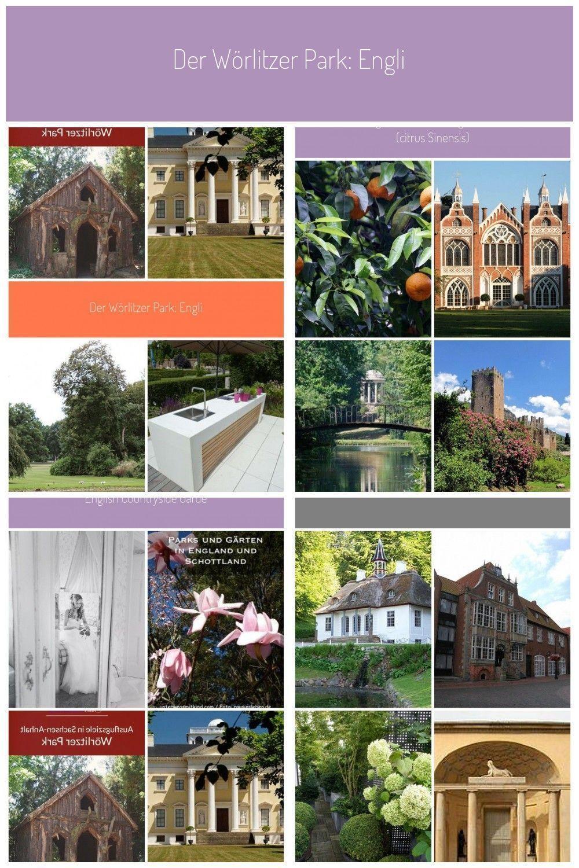 Der Worlitzer Park Englischer Garten Gondelfahrt Amphitheater Und Sogar Ein Amphith Der W Englischer Garten Englischer Landschaftsgarten Garten