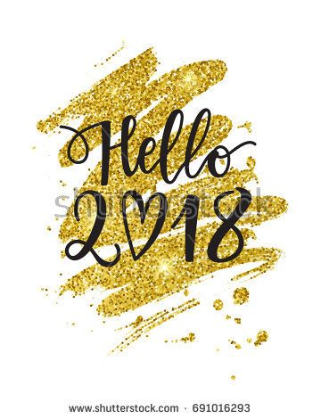 Delicieux Hello 2018!