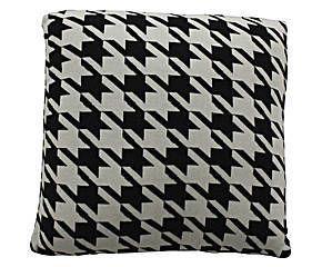 Coussin Coton I, Noir et blanc - 50*50