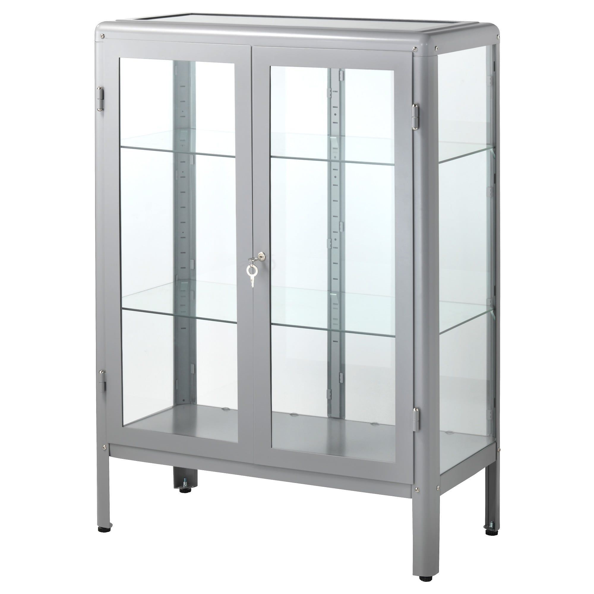 Inspiring Ikea Glass Door Cabinet Ideas