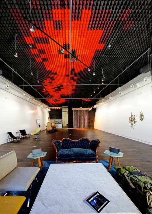 New La Brea Gallery For Listening And Borrowing Skateboards