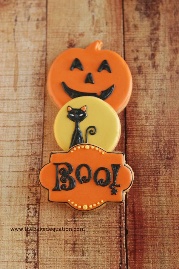 Halloween Sugar Cookies | The Baked Equation Phoenix #Halloween #cookies