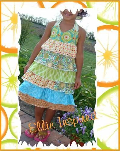 Another free dress pattern that I love!