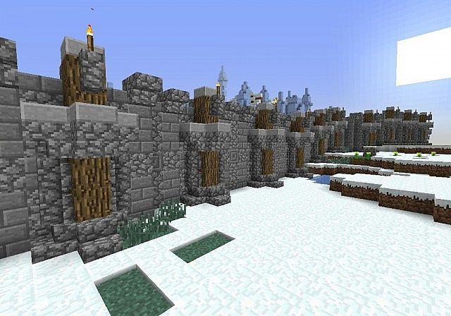 Minecraft Village Wall Designs Google Search Minecraft Castle