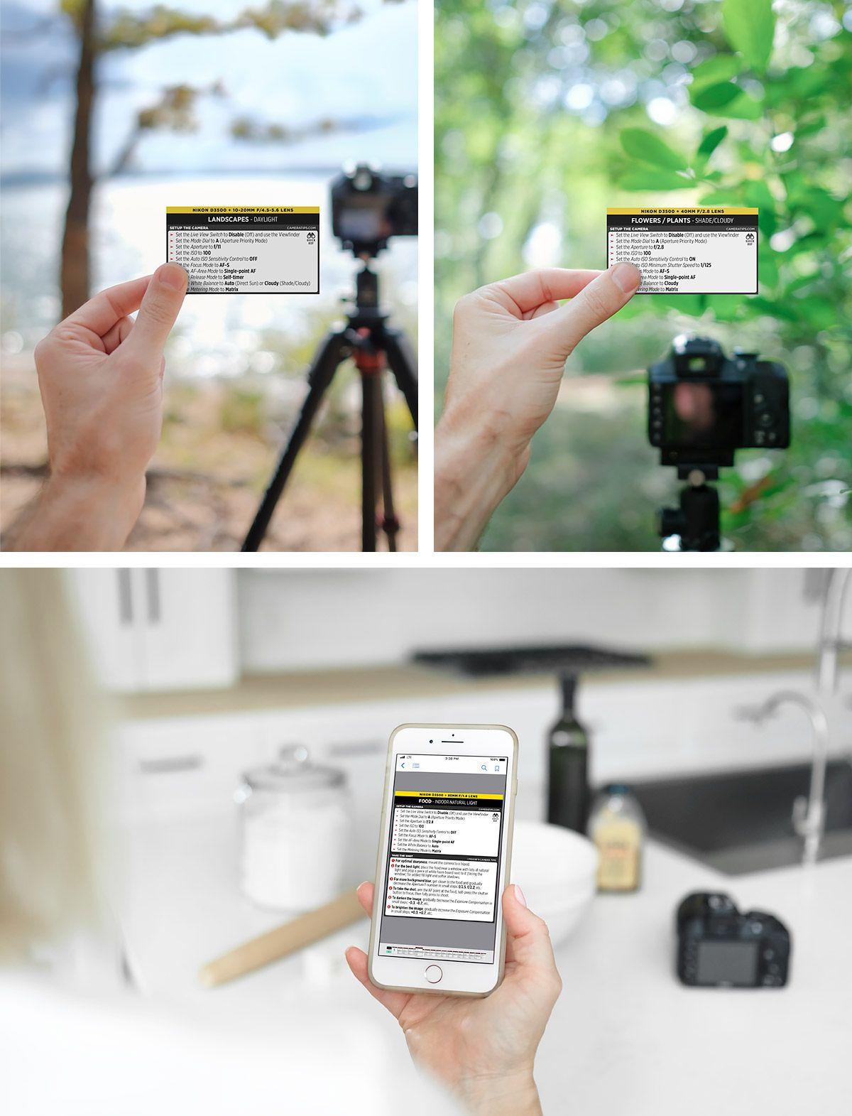 Nikon D3500 Cheat Sheet Camera Hacks Camera Nikon Photography Cheat Sheets
