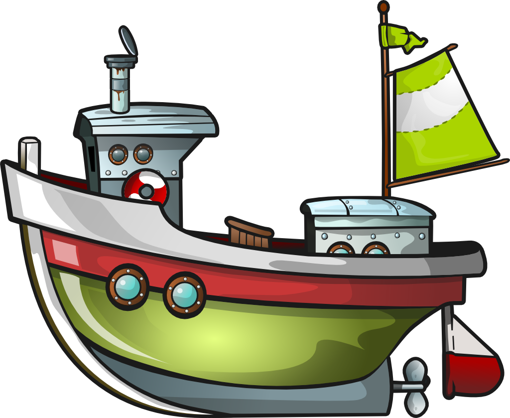 free green boat clip art winter holiday decor pinterest clip rh pinterest com  cartoon tugboat clipart