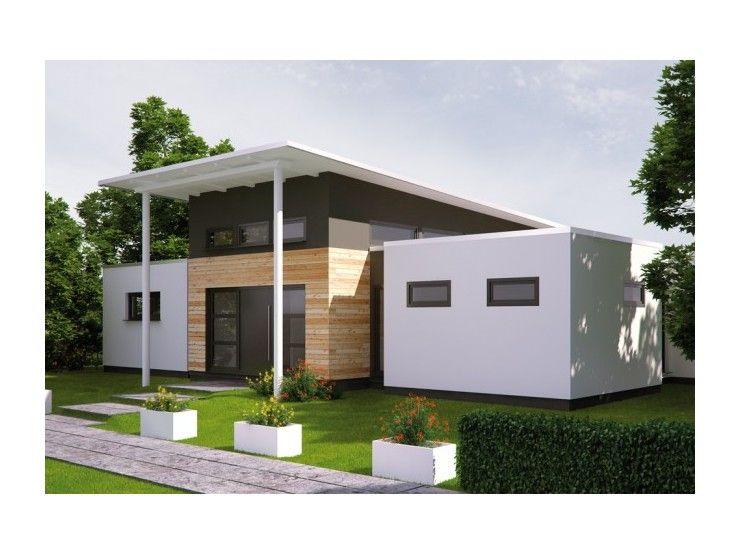 Fertighaus modern flachdach  Life 132 - Einfamilienhaus von Bau mein Haus Vertriebsges. mbH ...