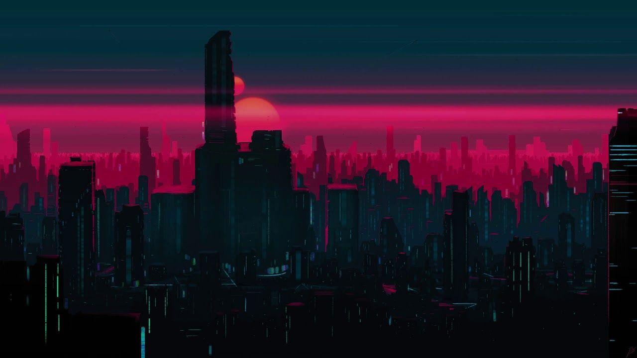 Lofi Chill Beat Fantasy By Rj Music Chill In 2020 Desktop Wallpaper Art City Wallpaper Aesthetic Desktop Wallpaper