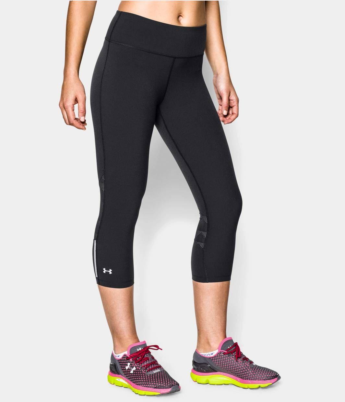 873abbb84f Women's UA Stretch Woven ArmourVent™ Run Capri | Under Armour CA in ...