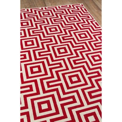 6 7 X9 6 Solid Area Rug Red Momeni Area Rugs For Sale Rugs