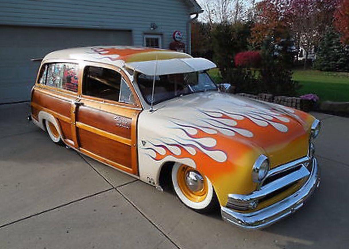 ◇Custom 1951 Ford Woody Wagon◇ Maintenance/restoration of old ...