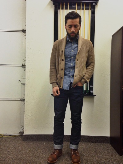 Mens outfits, Red wing iron ranger