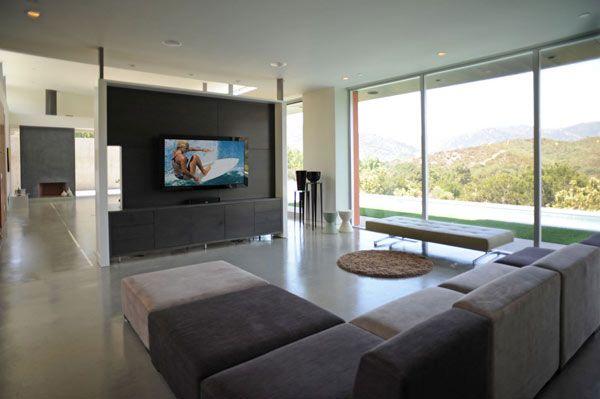 Diseo de Interiores Arquitectura Moderna Casa en California