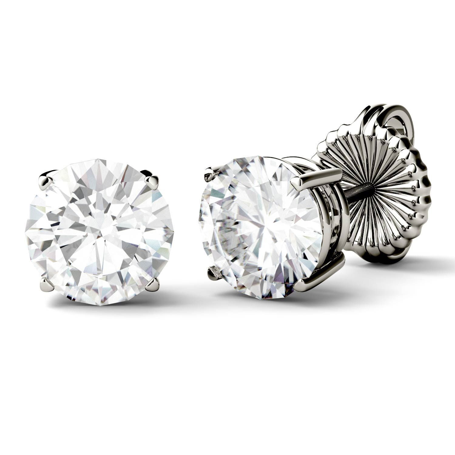 round brilliant colvard forever amazon moissanite earrings dp com by stud charles jewelry dew gold white