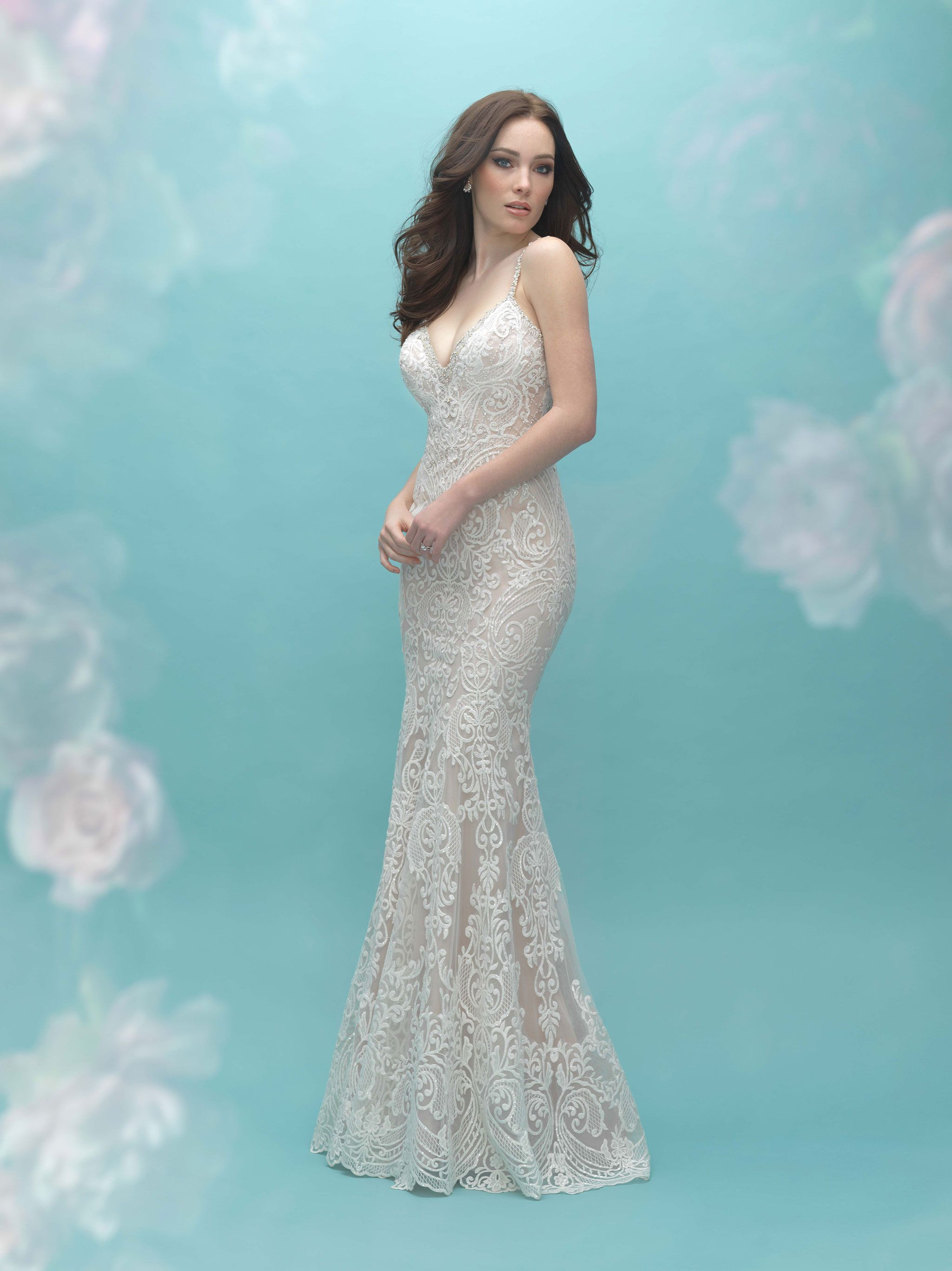 Allure Bridal style 9452 Sample: Ivory, size 12 | Allure Bridals ...