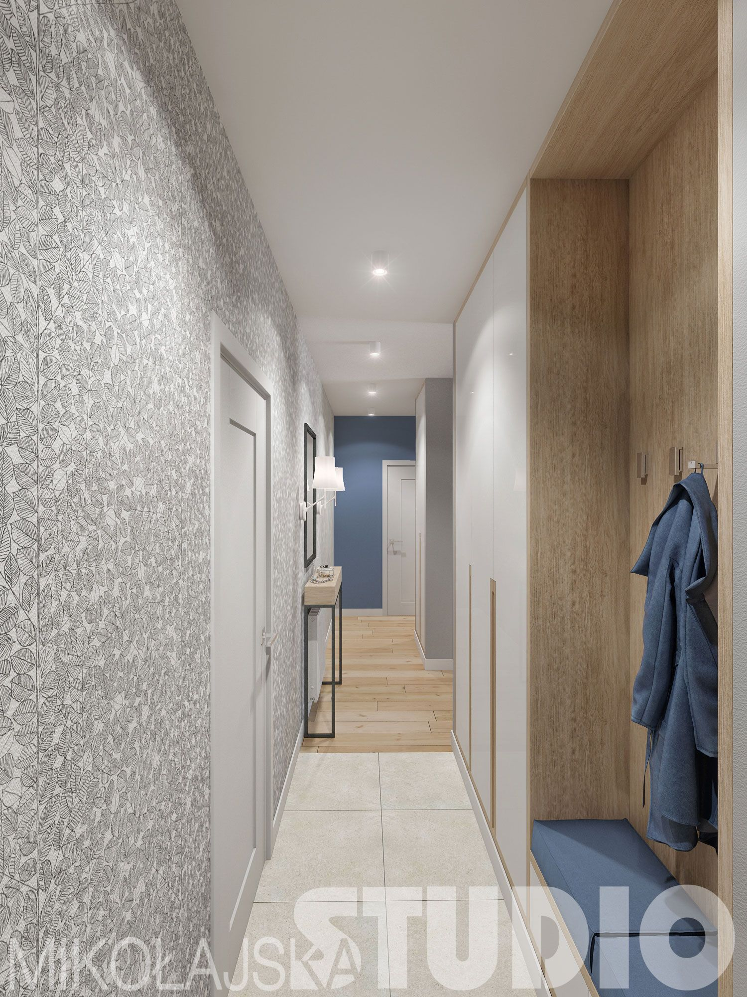 Jasny Korytarz Home Sweet Home Flooring