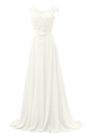 Gorgeous Bride Gorgeous Bride Modisch Lang Rundkragen A-Linie ...