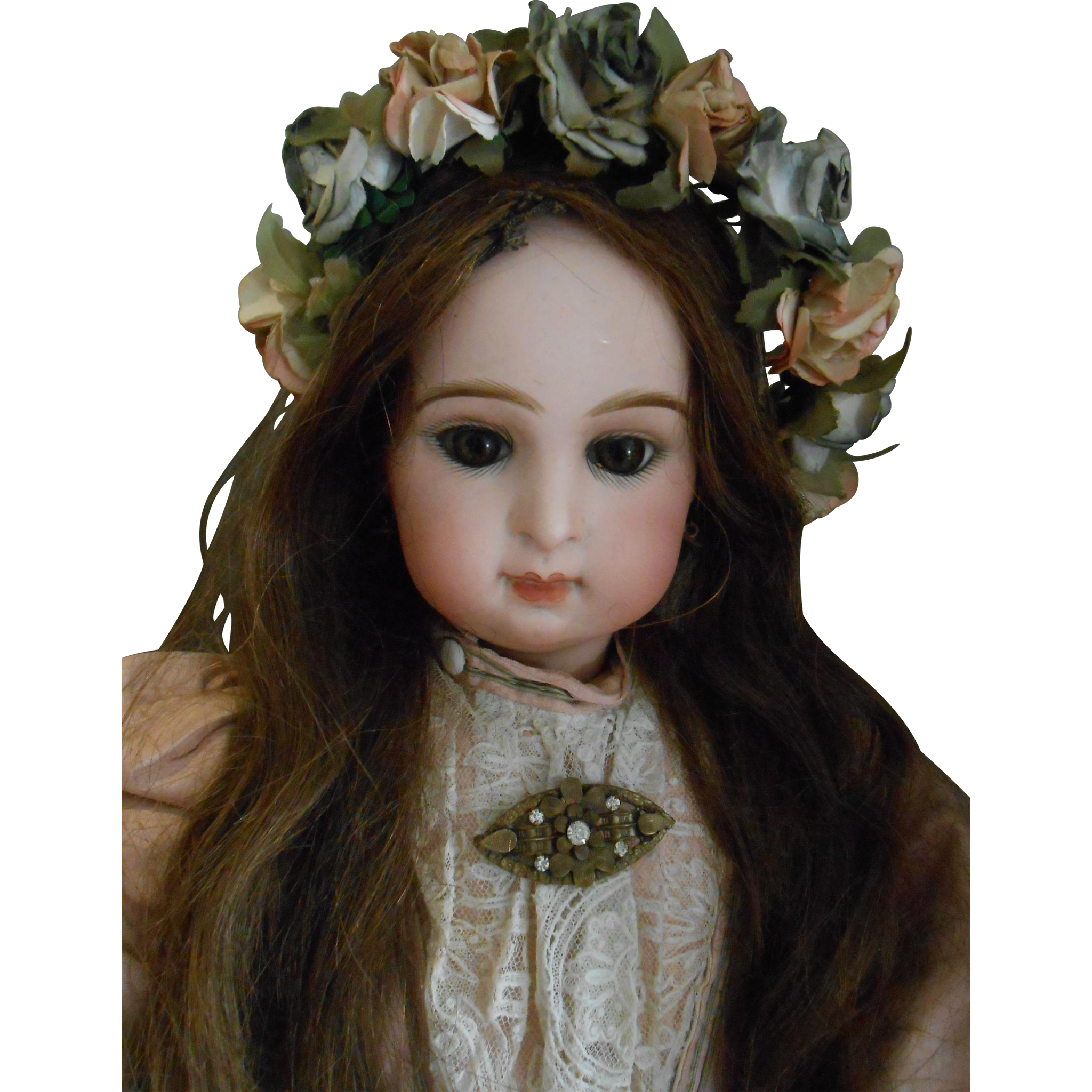 **** Beautiful Antique Pin for your BEBE**** from lovelyfaces on Ruby Lane