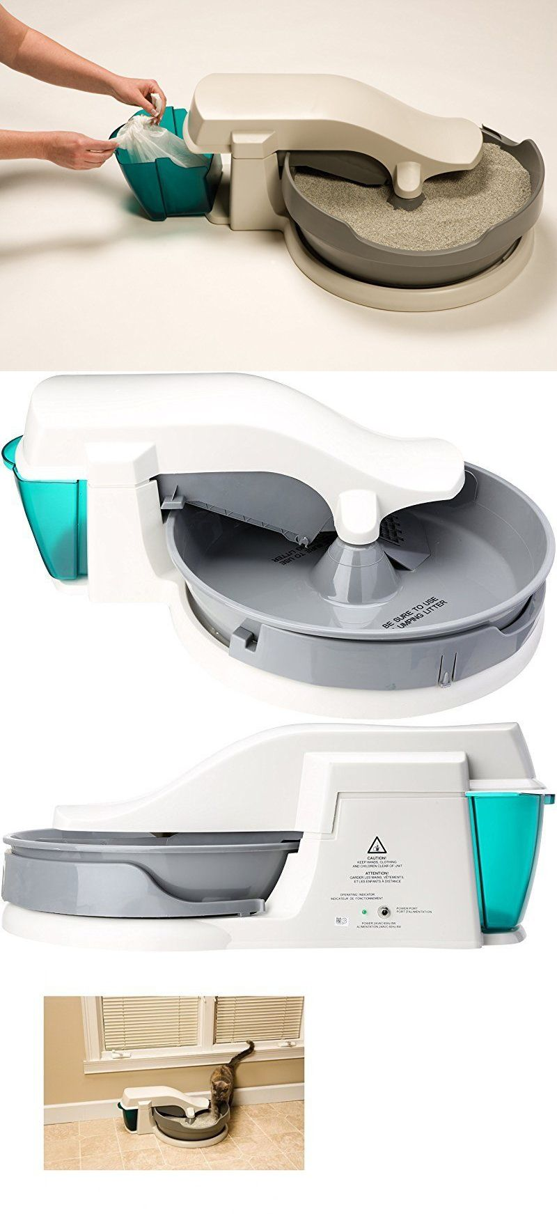 litter boxes self cleaning cat box automatic litter petsafe no scoop bags warranty