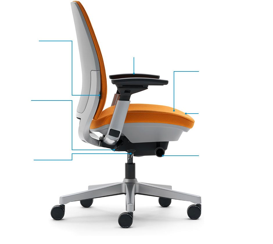 Steelcase Amia Chair Brochure Dorado Office Black By Aholic Pinterest The And