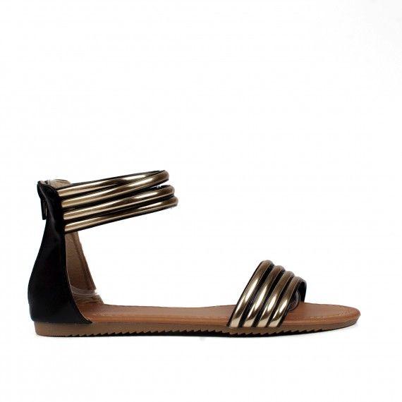 Incaltaminte Dama :: Sandale Dama :: Sandale dama Krasimira negre