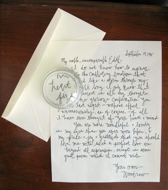 Sara Matthews all you need is nice handwriting to make a living
