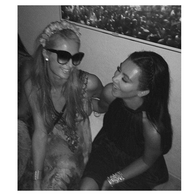 Kim and Paris againnn
