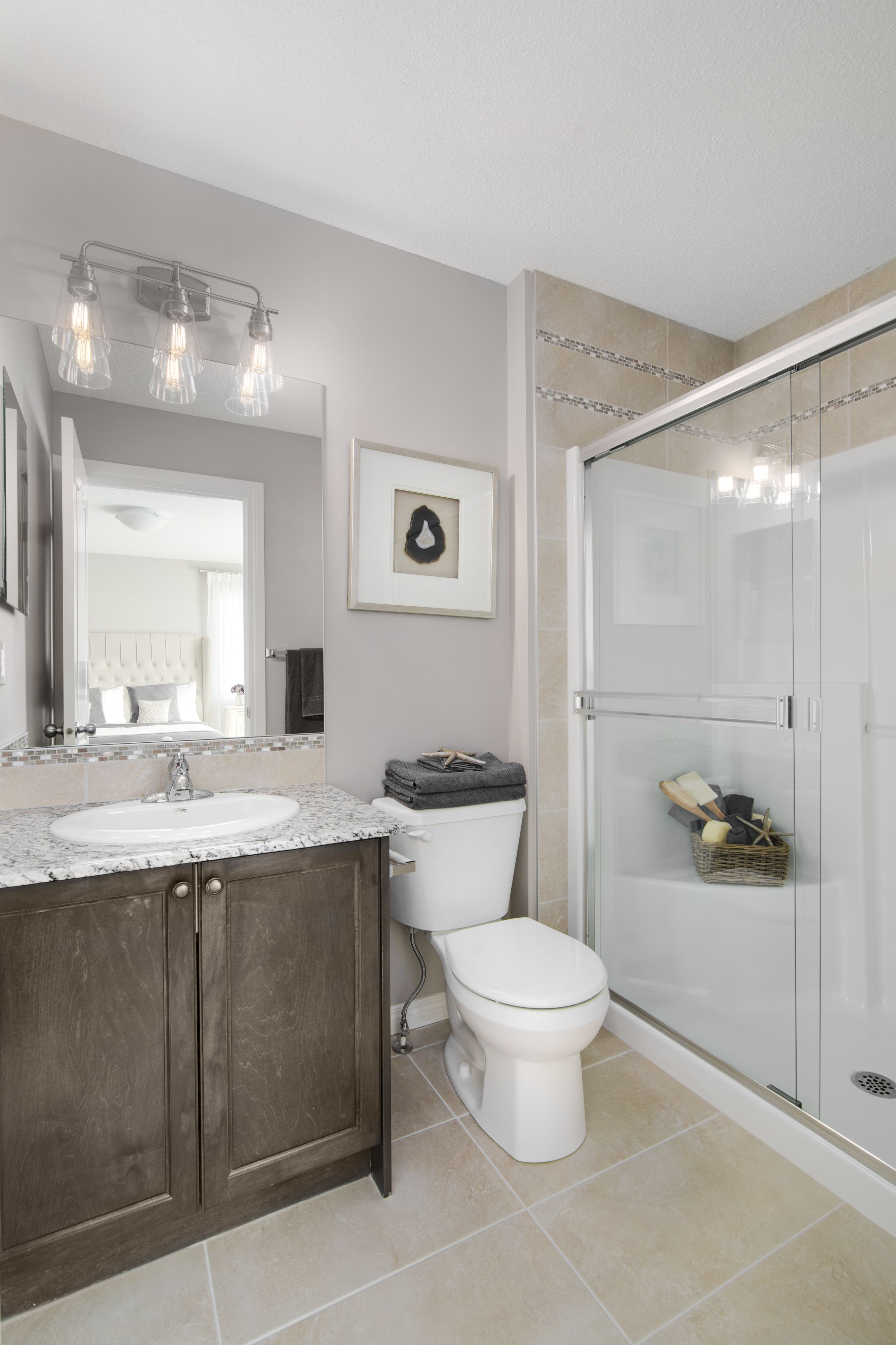 Wisteria Showhome by Shane Homes in Redstone Bathroom