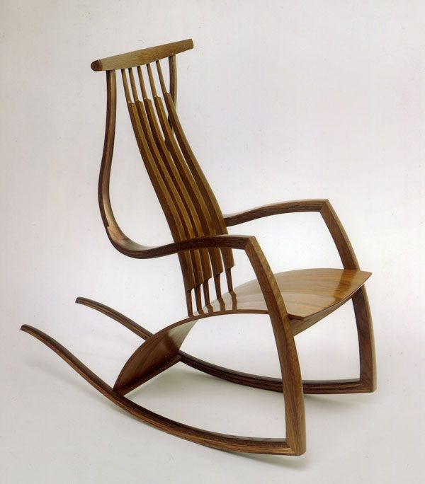 famous wooden chairs rocking chair by david savage rocking chair 15213 | 83905310718347ff8fc76da460f74163