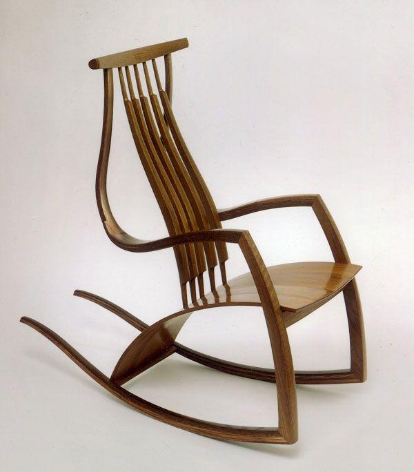 rocking chair by david savage rocking chair pinterest sillas. Black Bedroom Furniture Sets. Home Design Ideas