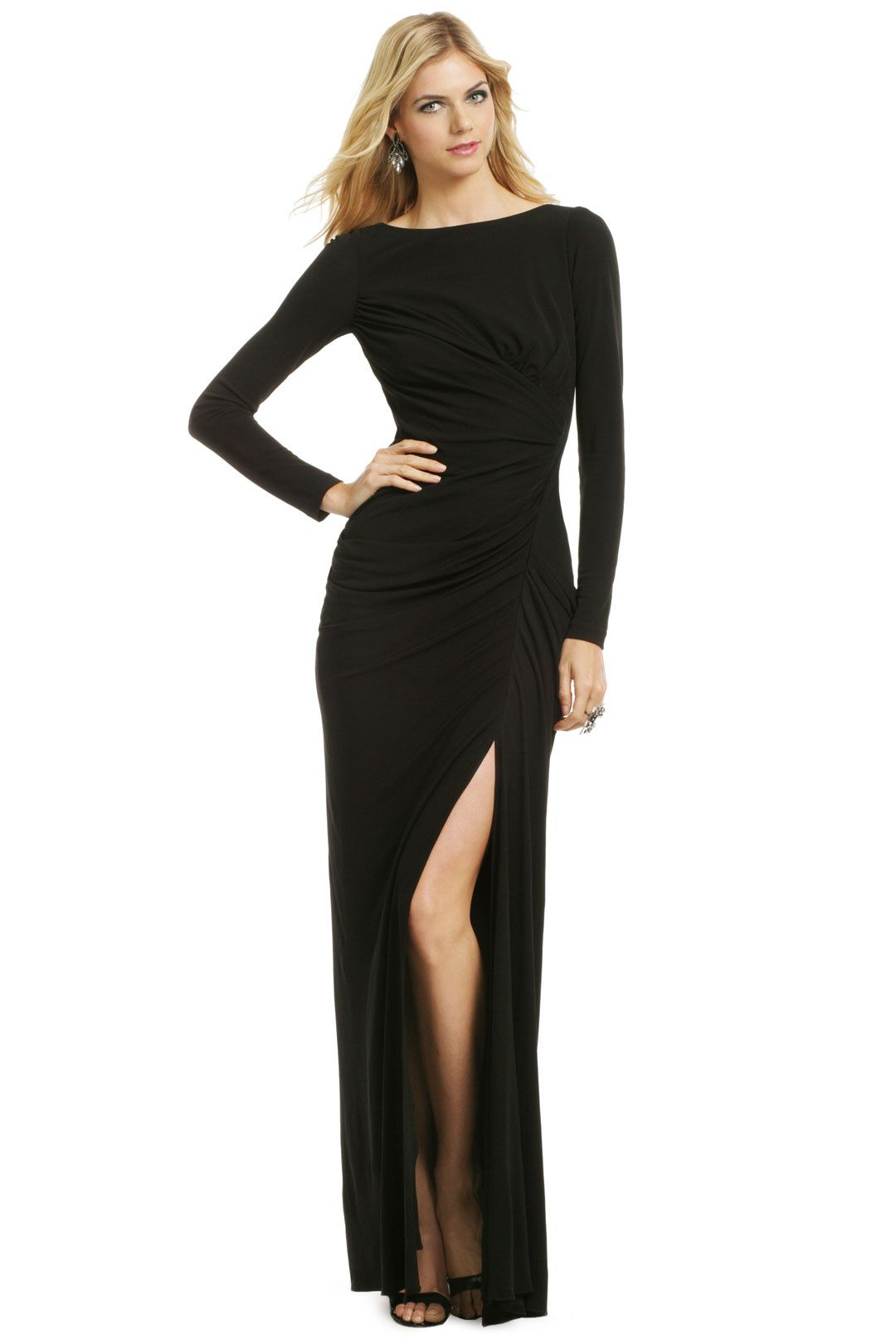 Water Lilies Maxi Dress by Badgley Mischka for $135 | Rent The ...
