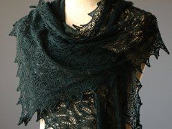 Mystic Forest Shawl | AllFreeKnitting.com    This is absolutely elegant! Truely a labor of love.