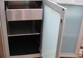 Outdoor Kitchen Outdoor Cabinet Detail