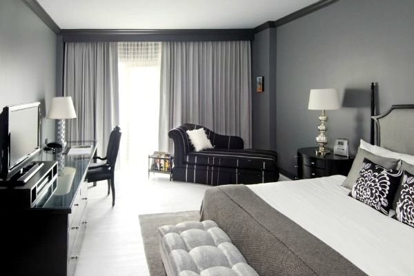dormitorios matrimonio en color gris - Buscar con Google   ML ...