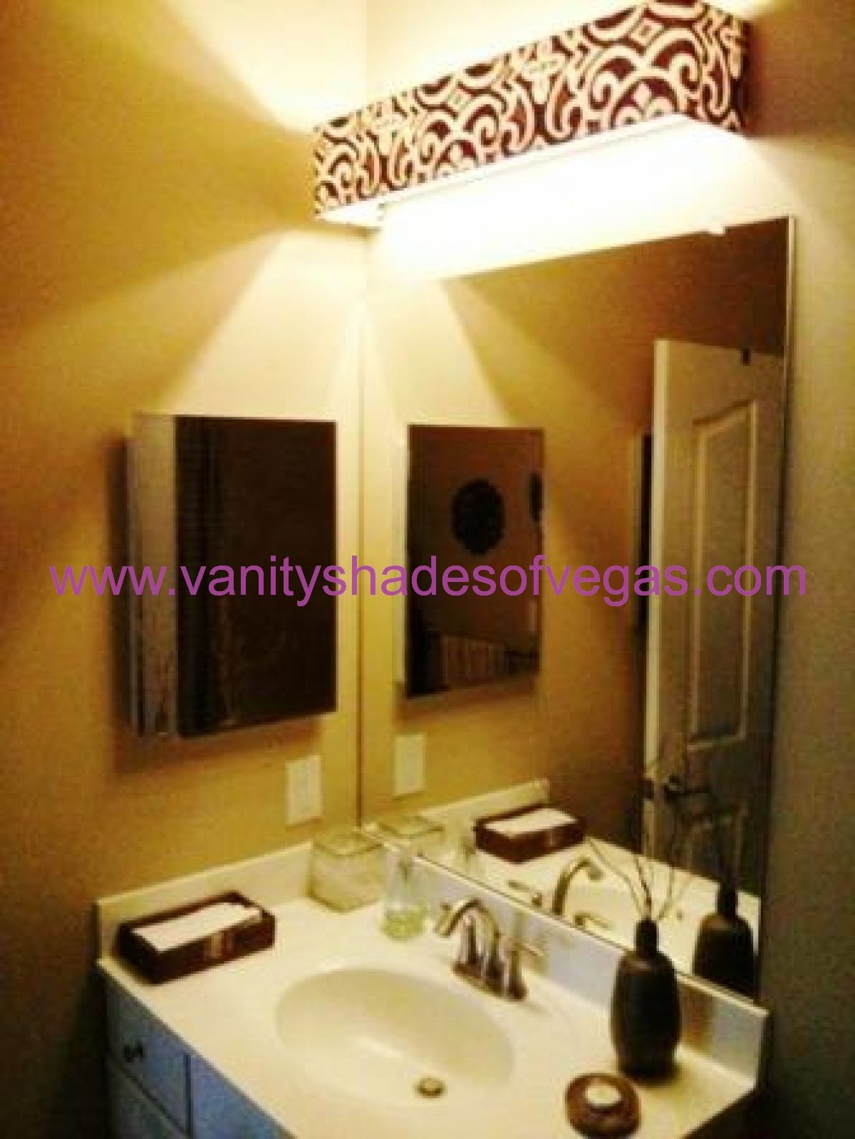 Portfolio of Vanity Shades | Pinterest | Bathroom light fixtures ...