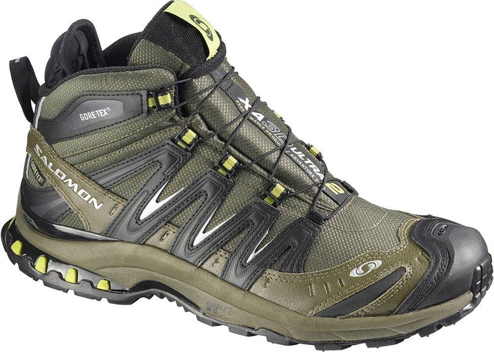 Salomon Xa Pro 3D Men's Running Shoes Brown Green COMUK:9547