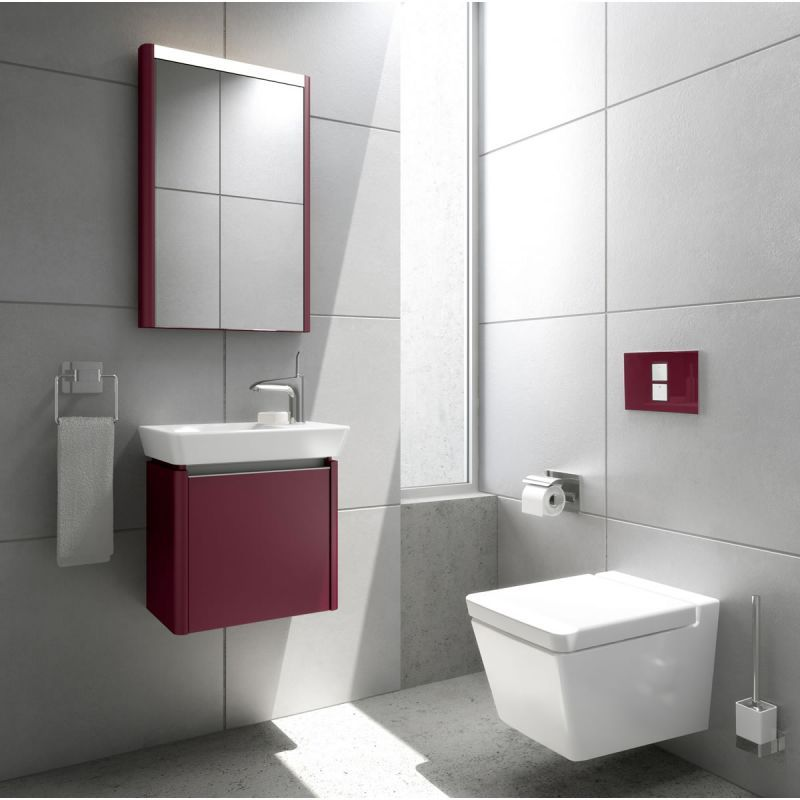 Vitra T4 Wall Hung WC. Contemporary Toilet from UK