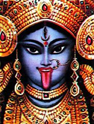 Kali: Kālī (Sanskrit: काली, IPA: [kɑːliː]), also known