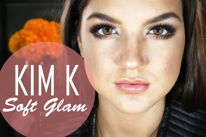 Kim kardashian soft glam makeup tutorial youtube kim kardashian soft glam makeup tutorial youtubemckenziepmann baditri Images