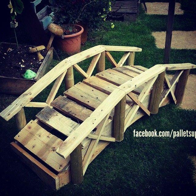 Petit Pont En Palette Palette Petits Ponts Pont