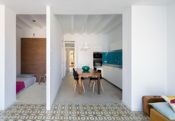 Cameretta Singola ~ Bed and breakfast nook architects barcellona cucina camera singola
