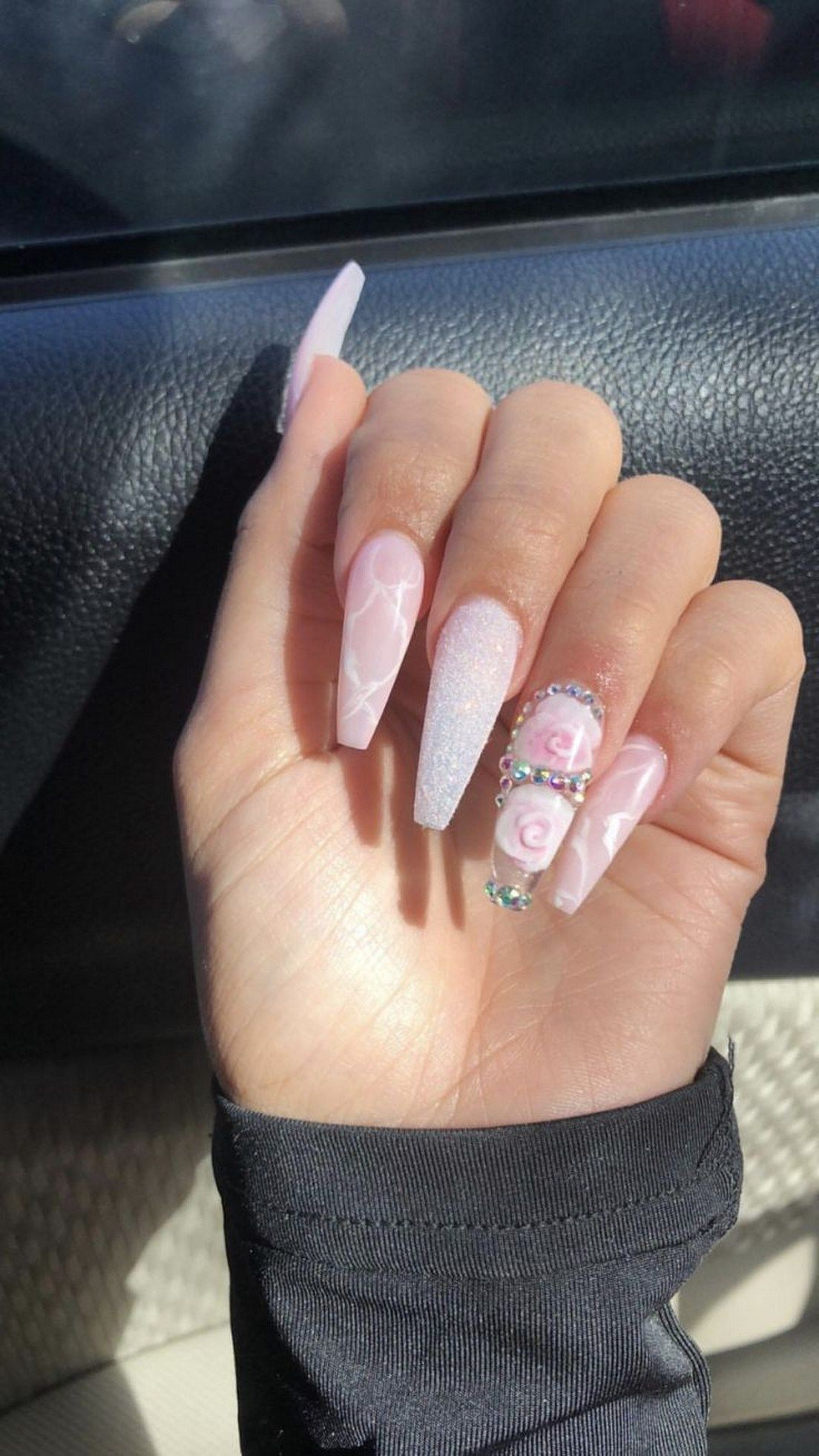 44 Best Acrylic Coffin Nails Ideas In 2019 37 Springnails